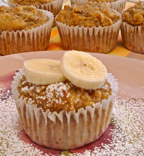 Pineapple Banana Sunshine Muffins