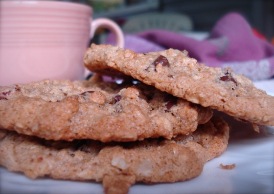 Oatmeal Strawberry Chocolate Chip Cookies