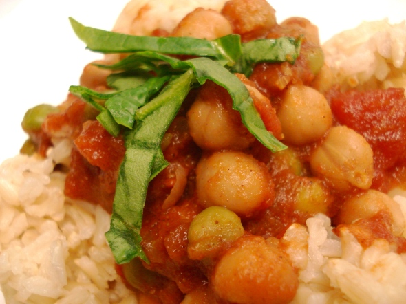 Spicy Chana Masala