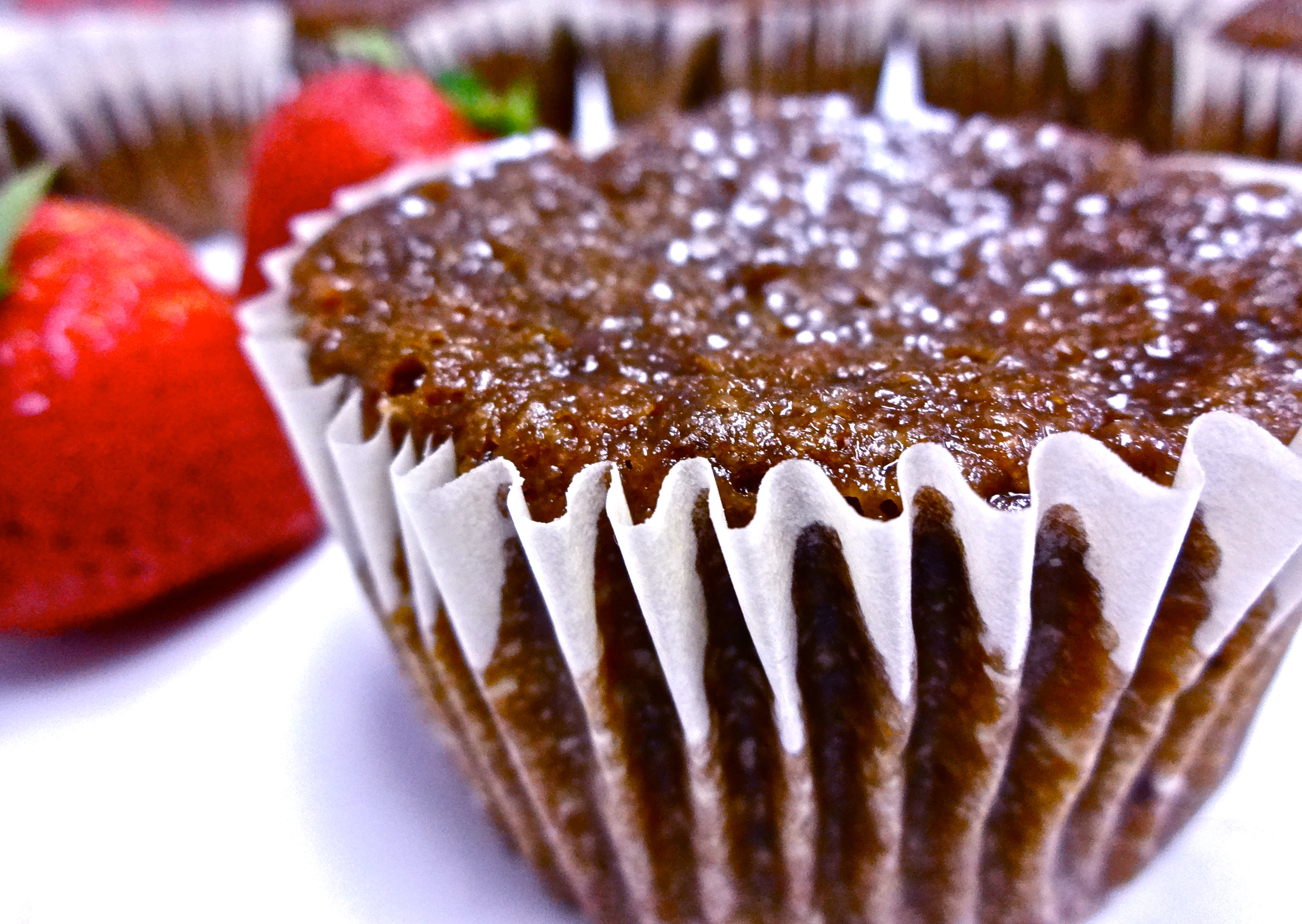 Chocolate Strawberry Muffins