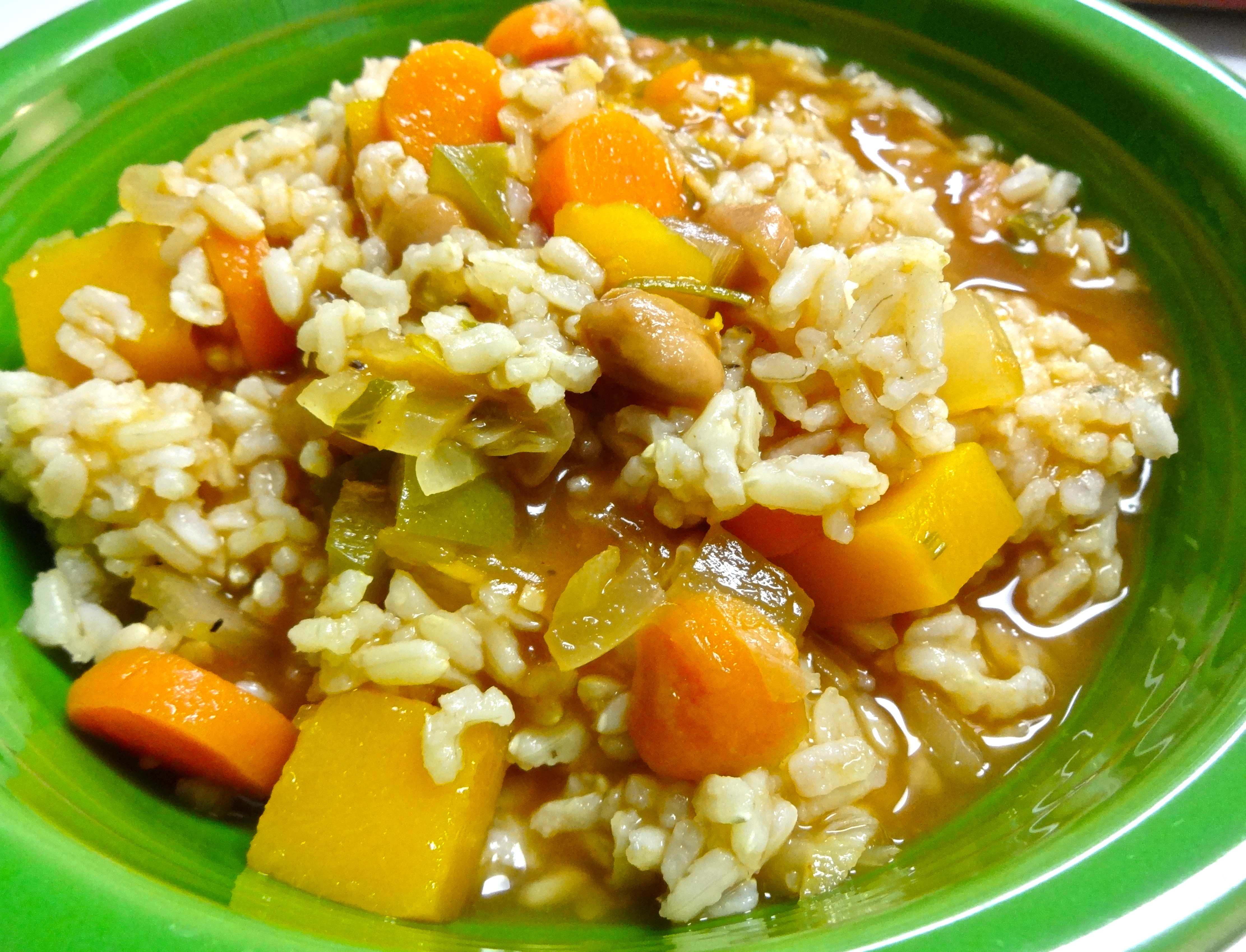 Dominican Chapea Vegetable Stew