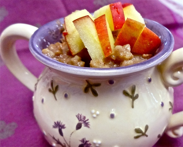 Chai-Spiced Steel Cut Oats