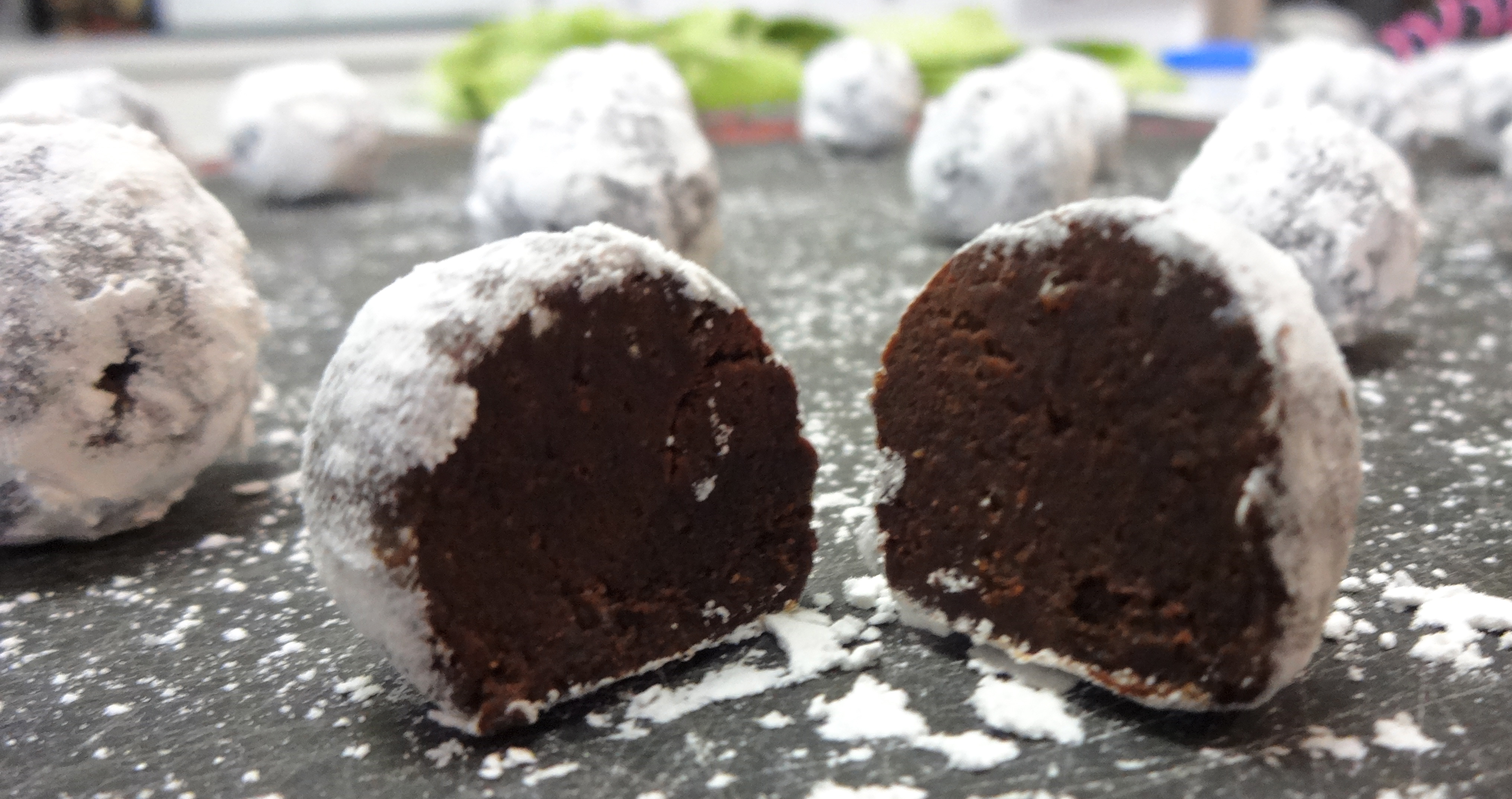 Chocolate Brandy Truffles