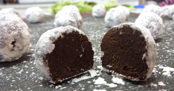 Chocolate Brandy Truffles