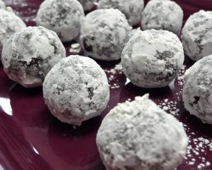 Chocolate Brandy Truffles 2