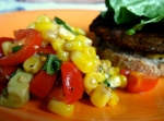 Fresh Corn, Tomato, and Avocado Salad 2