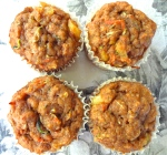 ZUCCHINI, CARROT, AND PINEAPPLE BREAKFAST MUFFINS 2