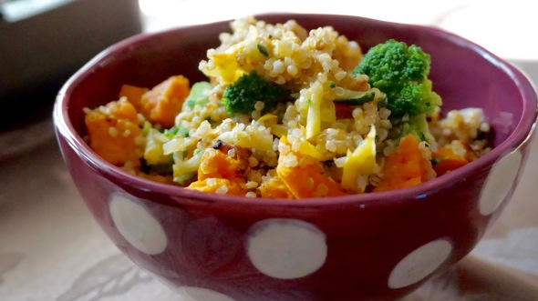 Quinoa with Butternut Squash