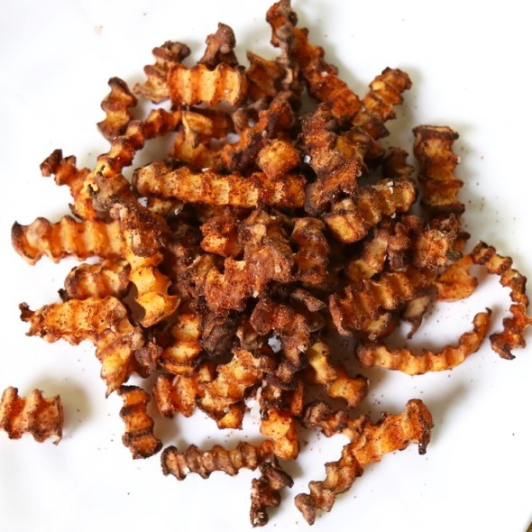 Harissa-Spiced Butternut Squash Air Fries