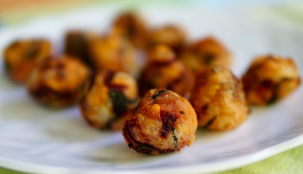 Sweet Potato Spinach Balls