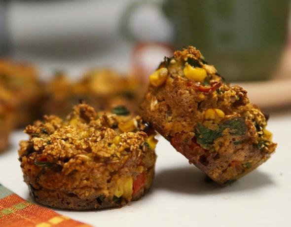 Savory Polenta Muffins