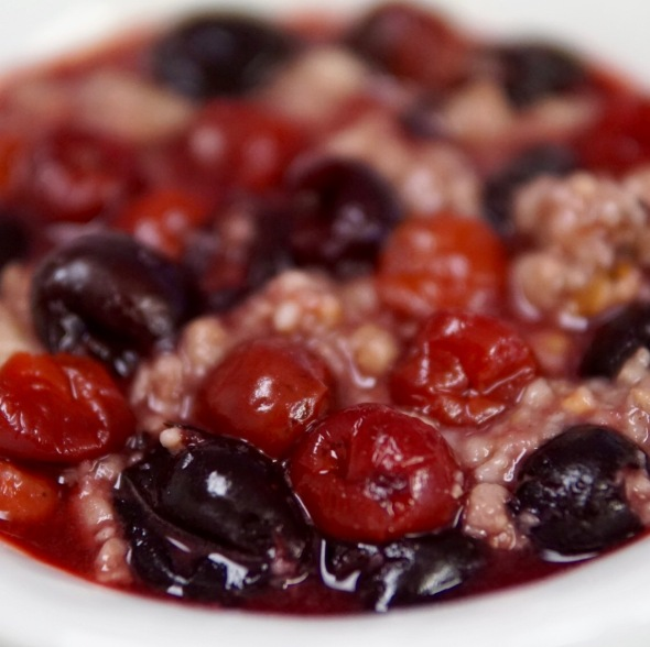 Double Cherry Steel Cut Oats