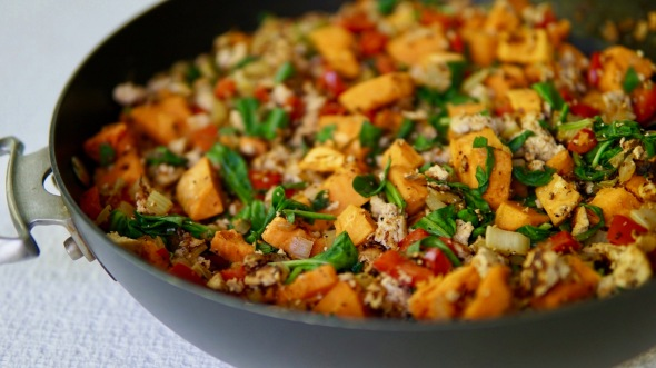 Tofu Power Scramble