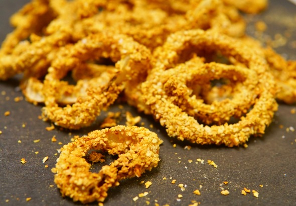 Air-Fried Onion Rings